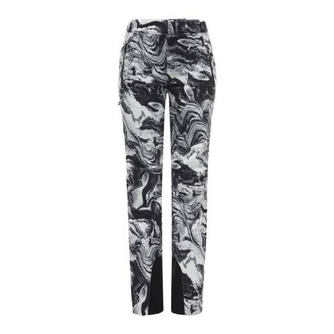 Spyder Women's Black Winter Tailored Graphic Pants
