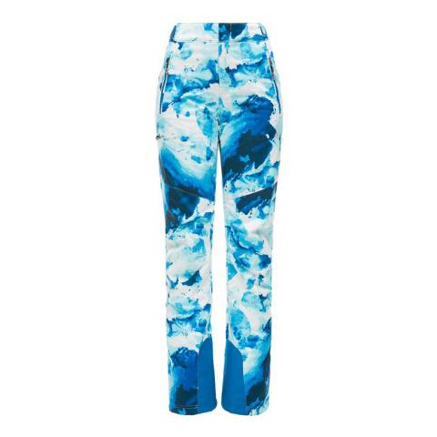 Spyder Women's Blue Winter Tailored Graphic Pants