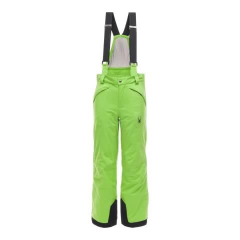 Spyder Kid's Green Guard Pant