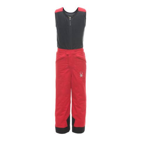 Spyder Kid's Mini Red/Black Expedition Pant