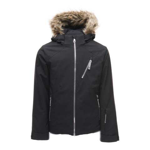 Spyder Kid's Black Geneva Jacket
