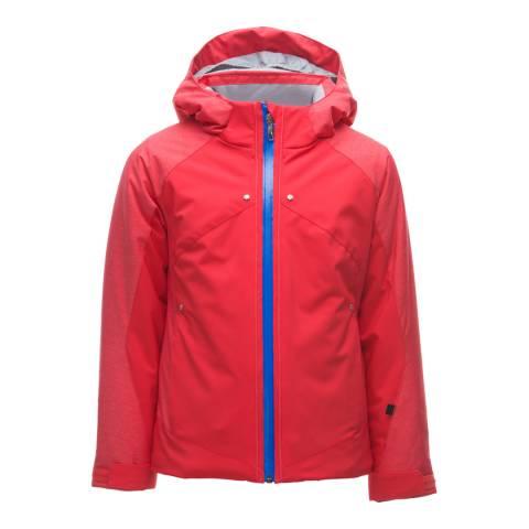 Spyder Kid's Hibiscus Red Tresh Jacket