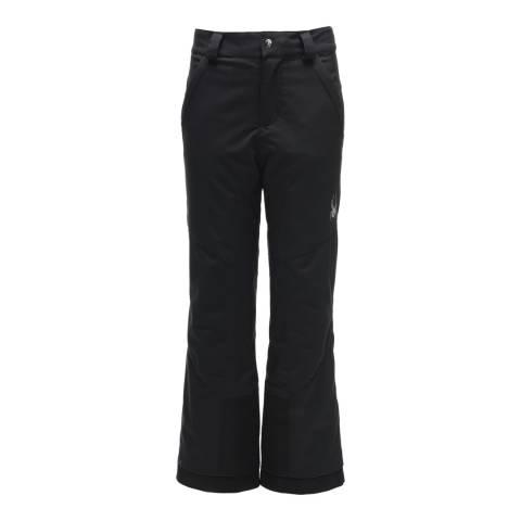 Spyder Kid's Black Olympia Tailored Pant