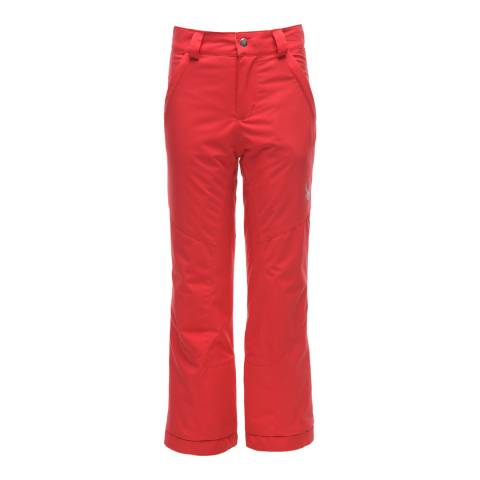 Spyder Kid's Hibiscus Red Olympia Tailored Pant