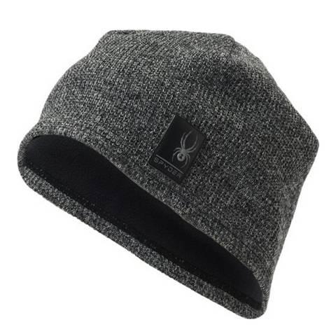 Spyder Men's Dark Grey Stryke Fleece Hat