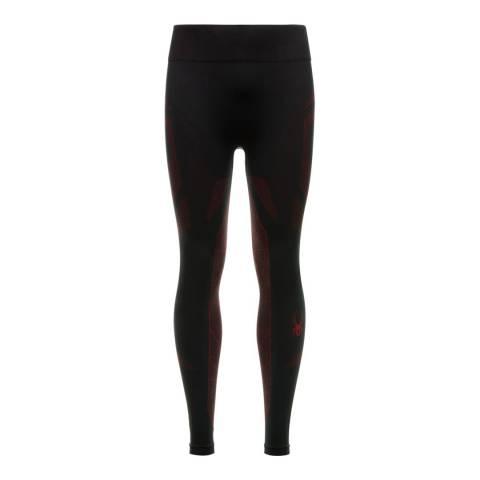 Spyder Men's Black/Red Baselayer Pants