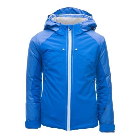 Spyder Kid's Blue Tresh Contrast Zip Jacket