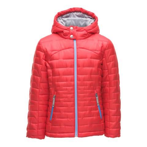Spyder Kid's Red Edyn Insulated Hoody Jacket