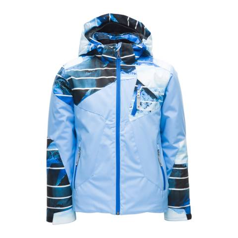 Spyder Kid's Blue Ava Graphic Print Jacket