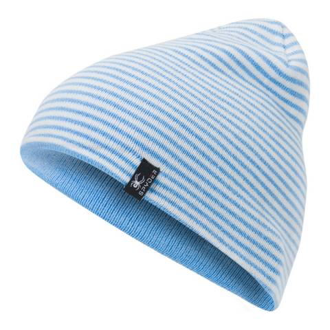 Spyder Kid's Blue Flux Reversible Hat