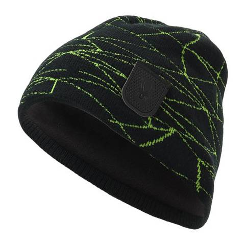 Spyder Men's Black/Green Hat