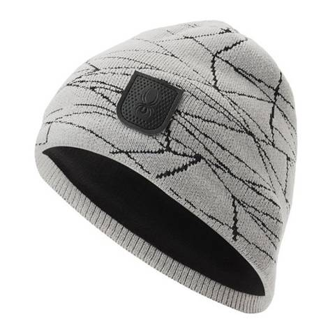 Spyder Men's Black/Grey Hat