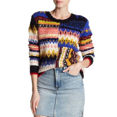 Free People Multi Best Day Ever Sweater