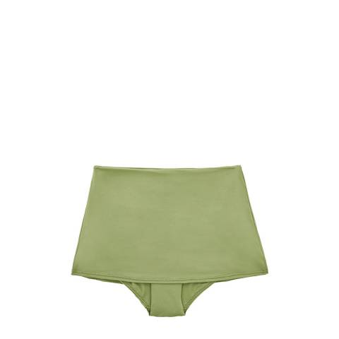 Seafolly Moss Active High Waisted Skirted Pant