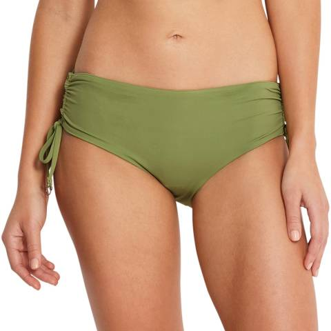 Seafolly Moss Ruched Hipster