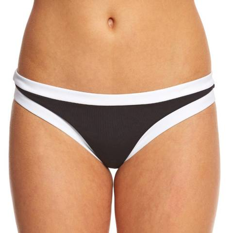 Seafolly Black Block Party Hipster Brief