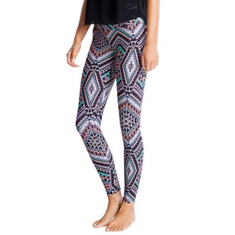 Seafolly Black Indian Summer Aztec Tights