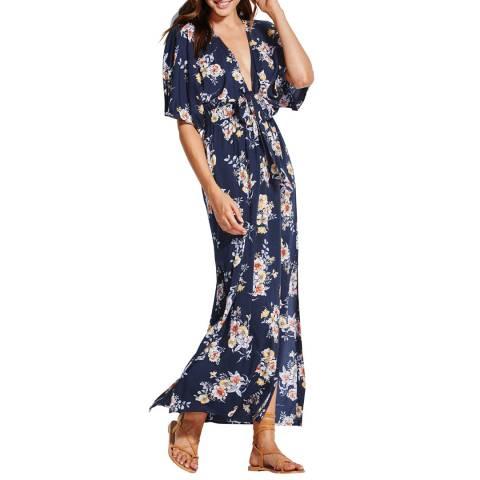 Seafolly Indigo Midsummer Maxi Dress
