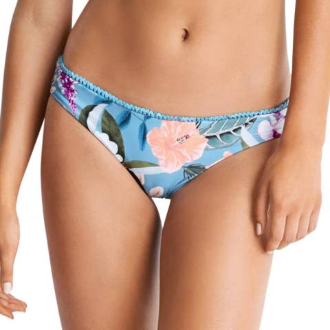 Seafolly Blue Mist Summer Vacay Brazilian Brief