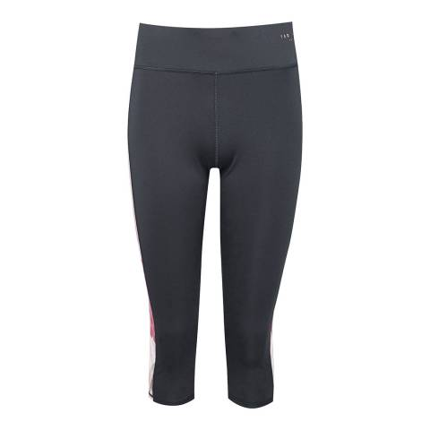 Ted Baker Grey Ridio Palace Gardens Crop Leggings