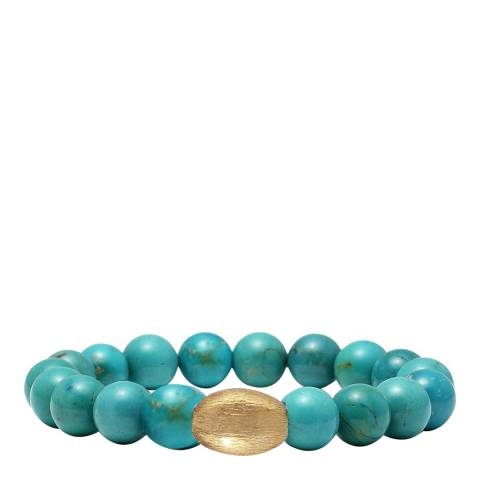 Liv Oliver Turquoise Bead Bracelet