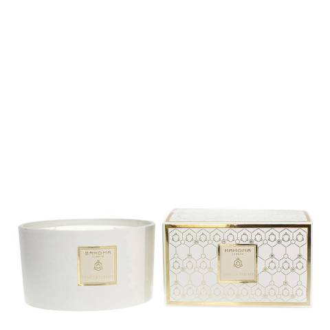 Bahoma Pearl Candle with 3 wicks Vanilla Parfait