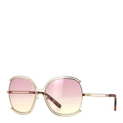 Chloe Women's Gold / Rose Chloe Sunglasses 59mm