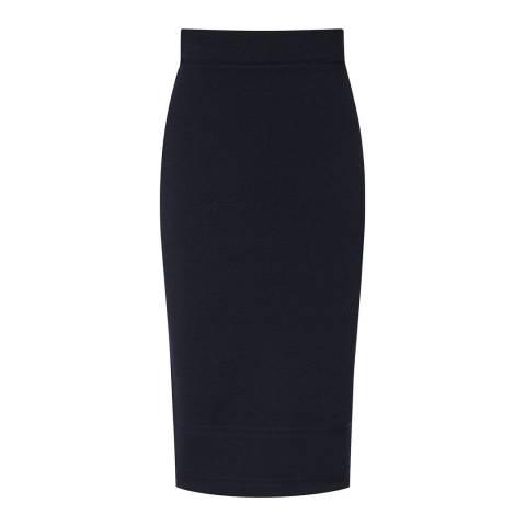 Reiss Indigo Guardian Knit Pencil Skirt