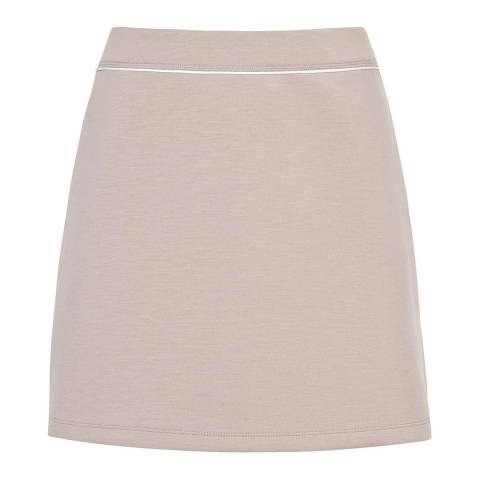 Reiss Nude Greta A Line Mini Skirt