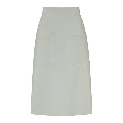 Reiss Peppermint Bridgette Knit Skirt