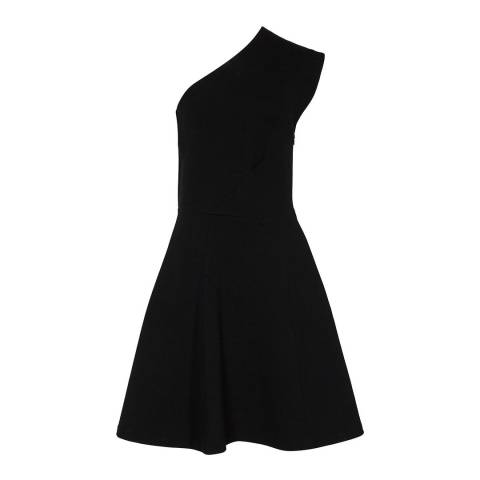 Reiss Black Keria Dress