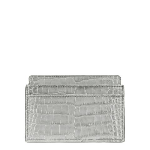 Smythson Silver Mara Card Holder
