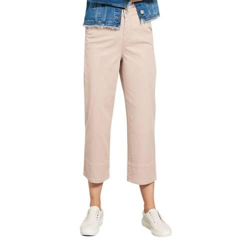 Mint Velvet Petal Cropped Wide Leg Trouser