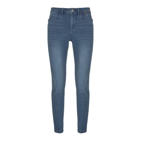 Mint Velvet Blue Darby Biker Skinny Jeans