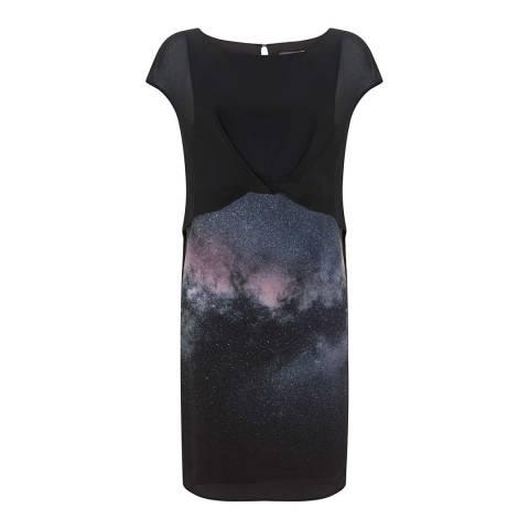 Mint Velvet Multi Meagan Print Layered Dress