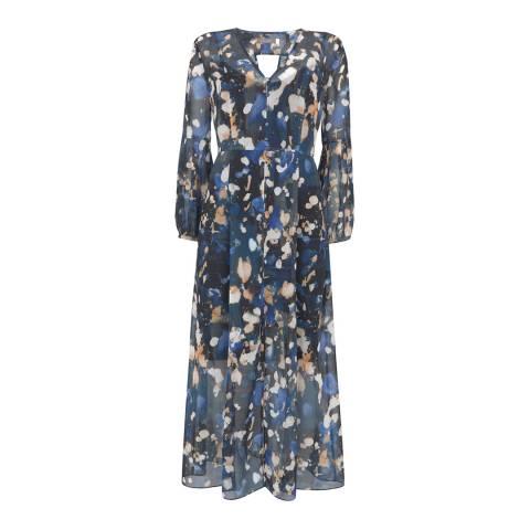 Mint Velvet Multi Langley Print Midi Dress