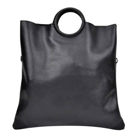 Sofia Cardoni Black Top Handle Bag