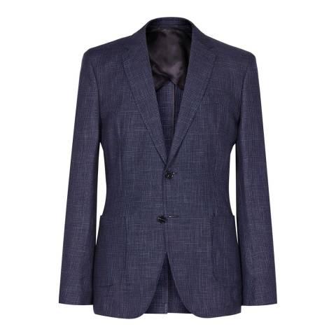 Reiss Navy Montana Modern Suit Jacket