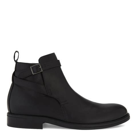 Reiss Black Jodhpur Leather Boots