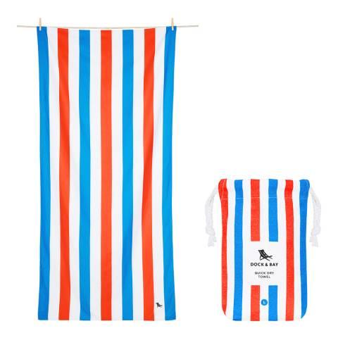 Dock & Bay Summer Large Beach Towel, Poolside Parties