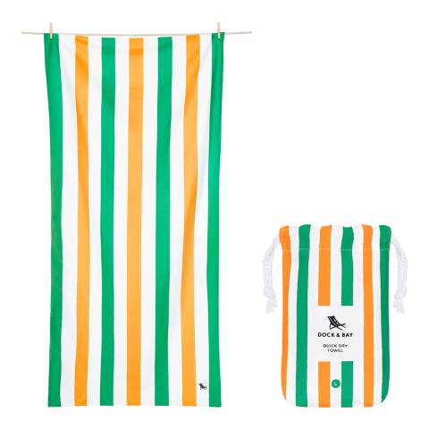 Dock & Bay Summer Large Beach Towel, Lazy Afternoons