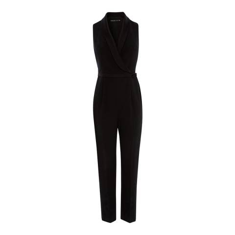 Karen Millen Black Tailored Jumpsuit