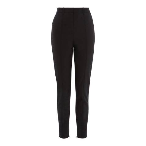 Karen Millen Black Super Stretch Trousers