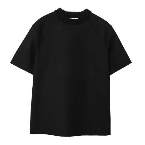 Mango Ruched detail t-shirt
