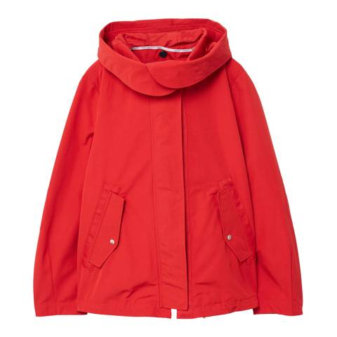 Mango Red Chloe Parka Jacket