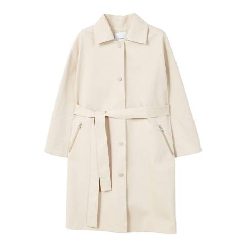 Mango Zip pocket trench