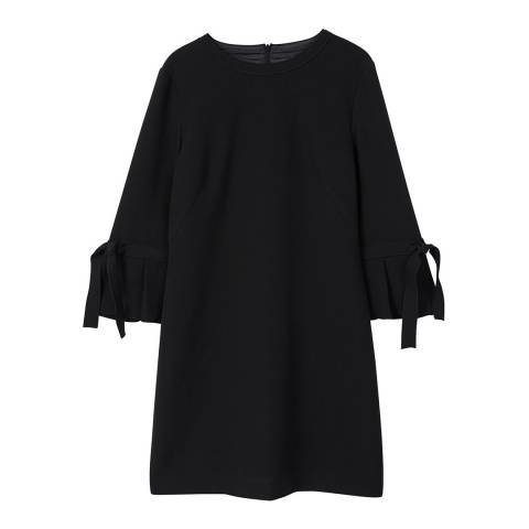 Mango Pleated sleeve dress