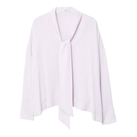 Mango Lace flowy blouse