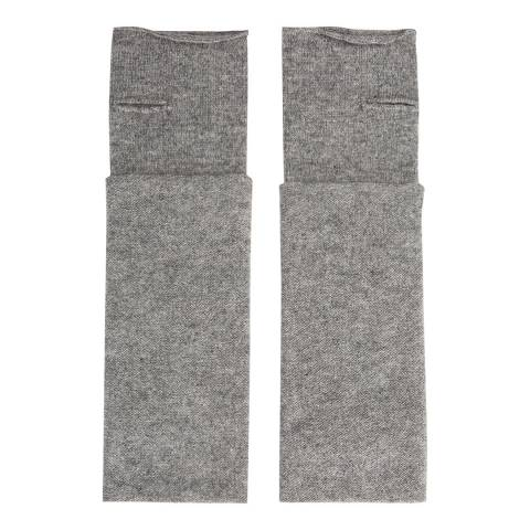 Laycuna London Grey Cashmere Wrist Warmers