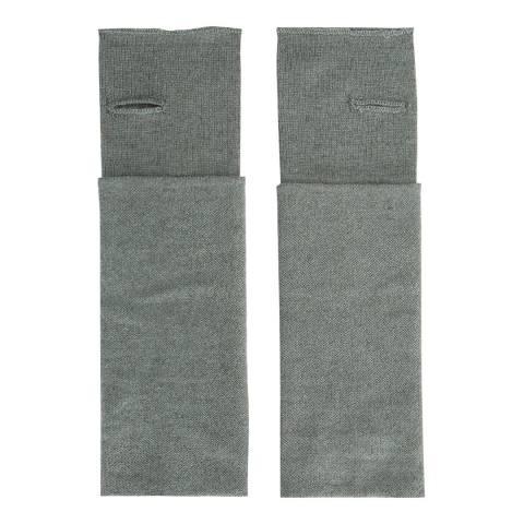 Laycuna London Khaki Cashmere Wrist Warmers